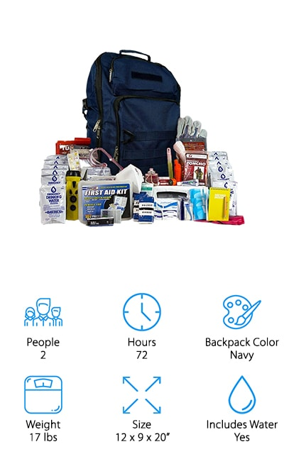 EQB Complete Bug Out Bag