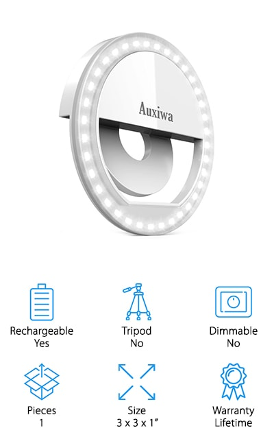 Auxiwa Selfie Ring Light