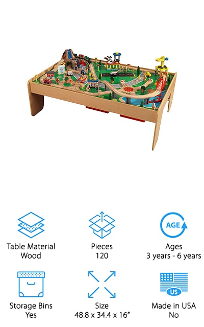 KidKraft Waterfall Mountain Table