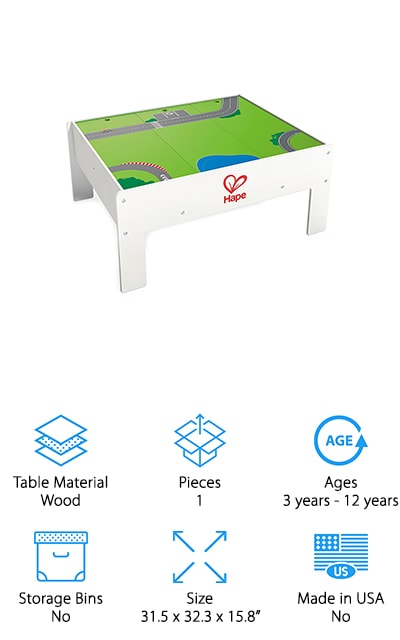 Hape Railway Activity Table