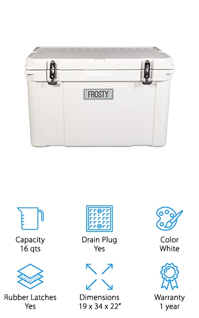 Frosty Roto-Molded Cooler