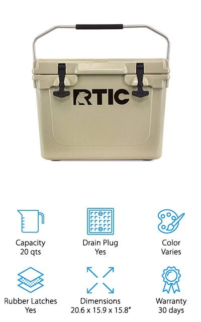 RTIC Roto-Molded Cooler