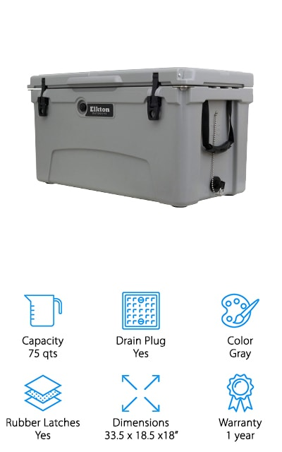 Elkton Outdoors Cooler