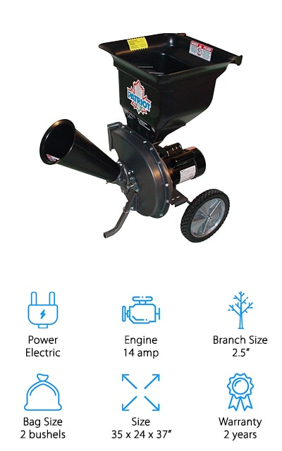 Patriot Products Chipper Shredder
