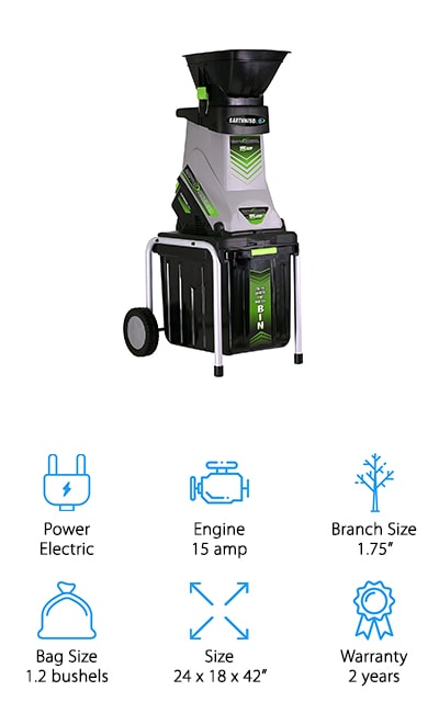 Earthwise Electric Chipper/Shredder