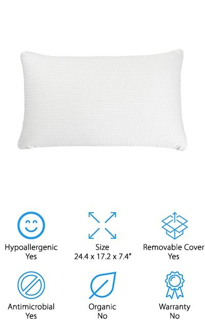 Simmons Beautyrest Latex Pillow