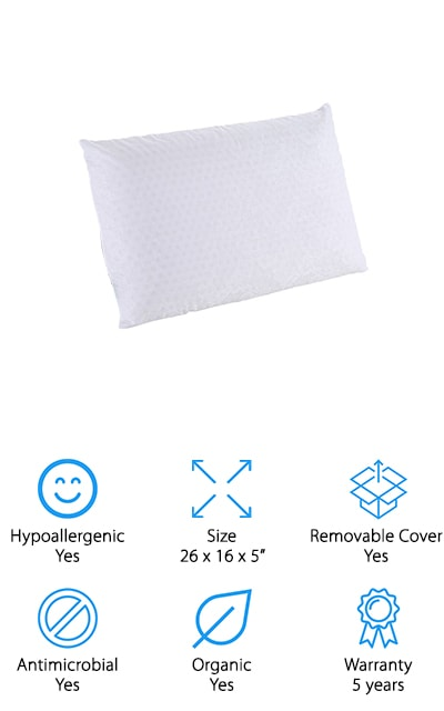SWEESLEEP Latex Foam Pillow