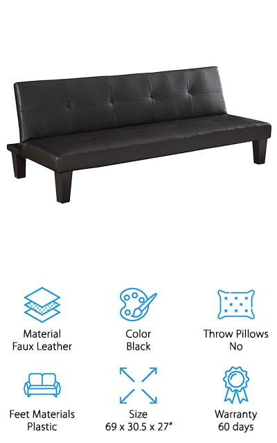 Homegear Convertible Sofa