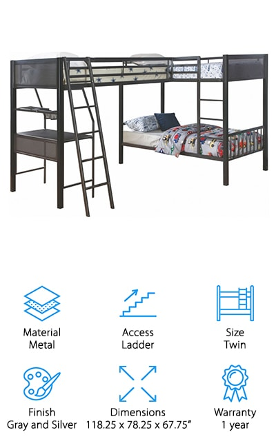 Ballarat L-Shaped Bunk Beds
