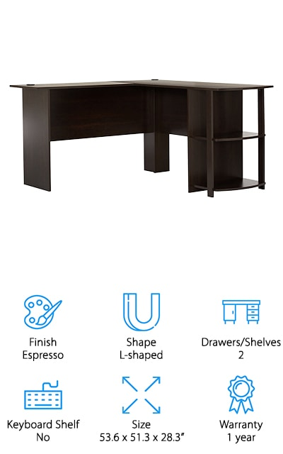 Altra Furniture L-Shaped Desk