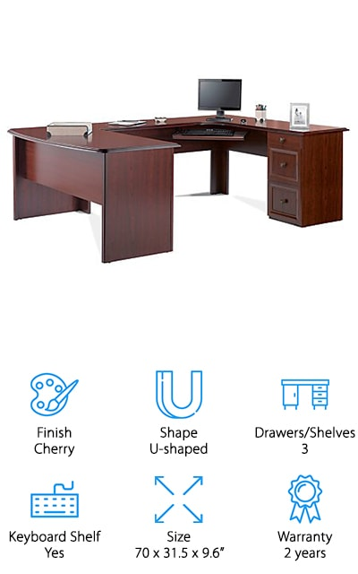 Realspace Executive Desk