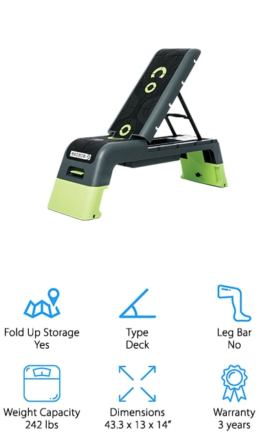 Escape Fitness Deck Workout Bench