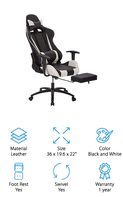 BestOffice Recliner Office Chair