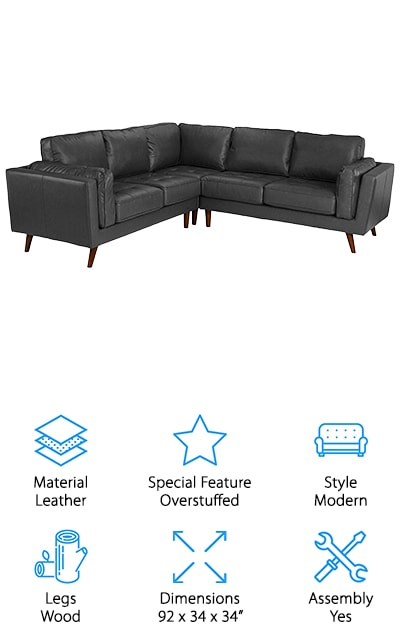 Divano Roma Leather Sectional