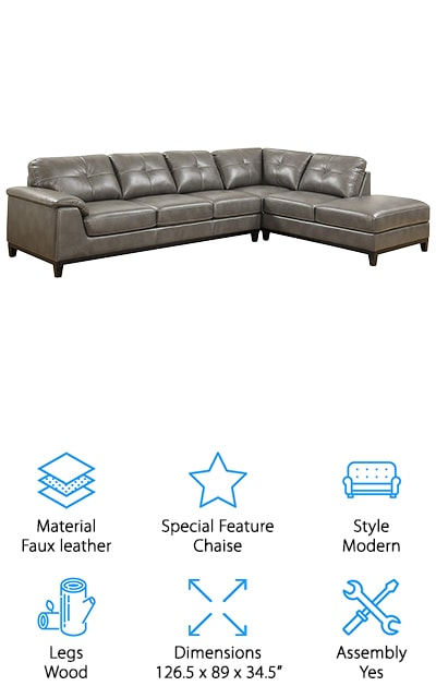 Emerald Home Marquis Sectional