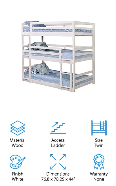 Pemberley Row Triple Bunk Bed