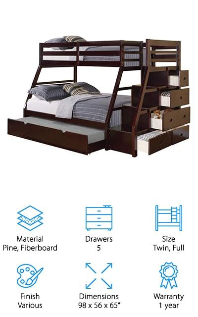 ACME Jason Bunk Bed