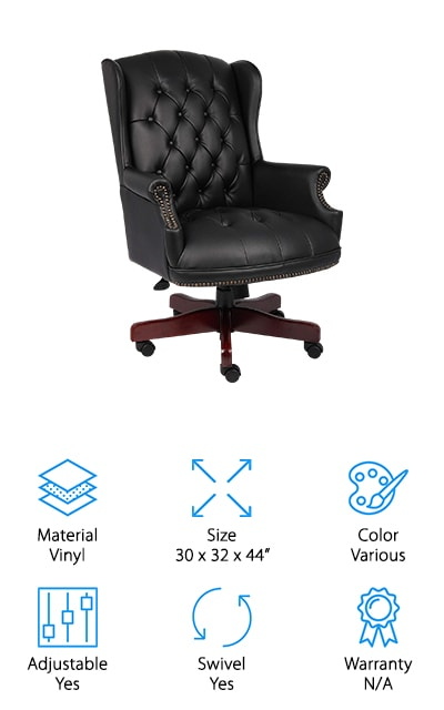 Boss Office Products Traditional Chair