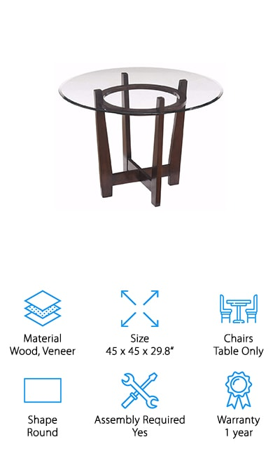 Ashley Furniture Glass Table