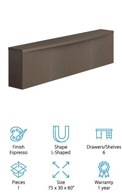 OfisLite Reception Desk