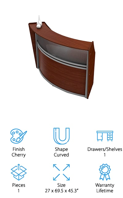 Linea Italia Reception Desk