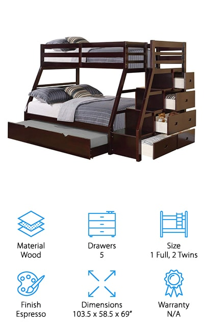 ACME Jason Bunk Bed