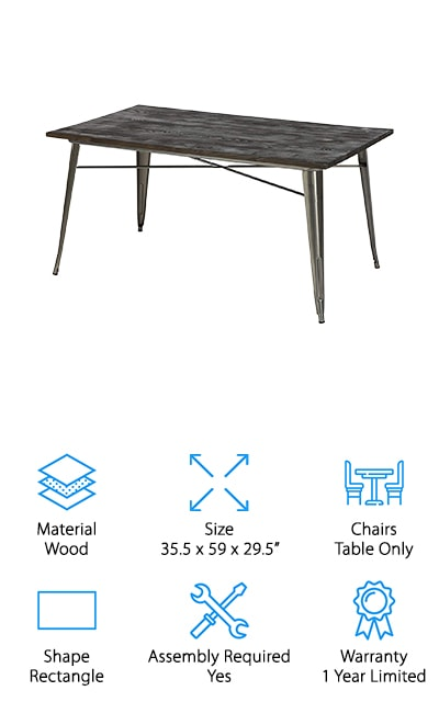 DHP Fusion Dining Table