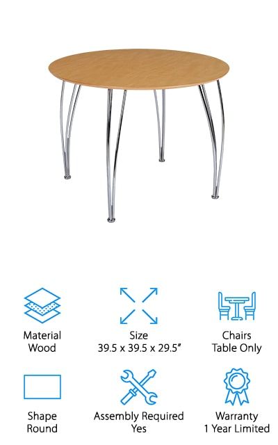Novogratz Round Dining Table