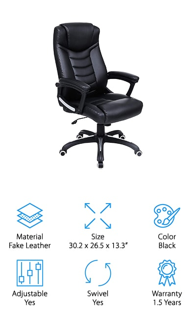 Songmics Executive Office Chair