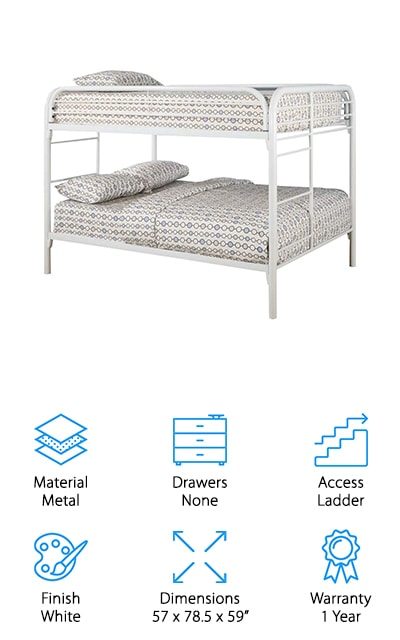 Coaster Full/Full Bunk Bed