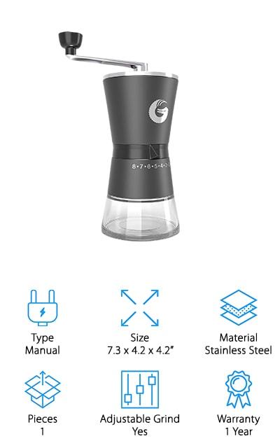 Coffee Gator Burr Grinder