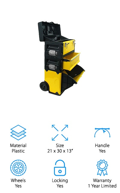 Trademark Tools Portable Tool Chest