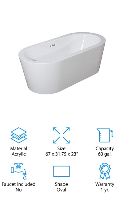 WOODBRIDGE Soaking Tub