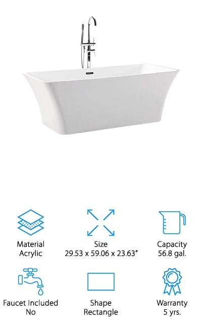 Kardiel Helixbath Parva Bathtub