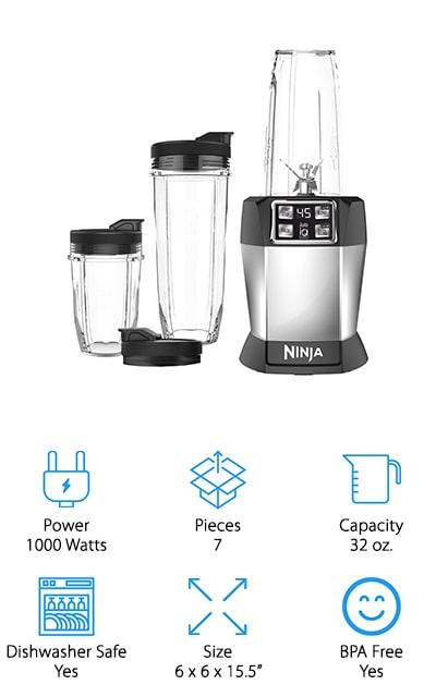 Ninja BL482 Personal Blender