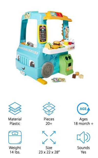 Fisher-Price Servin' Up Fun Food Truck