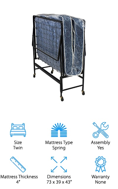 Serta Durable Rollaway Bed