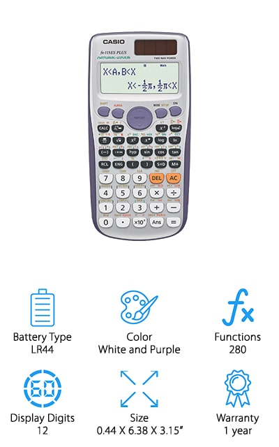 Casio fx-115ES PLUS Calculator