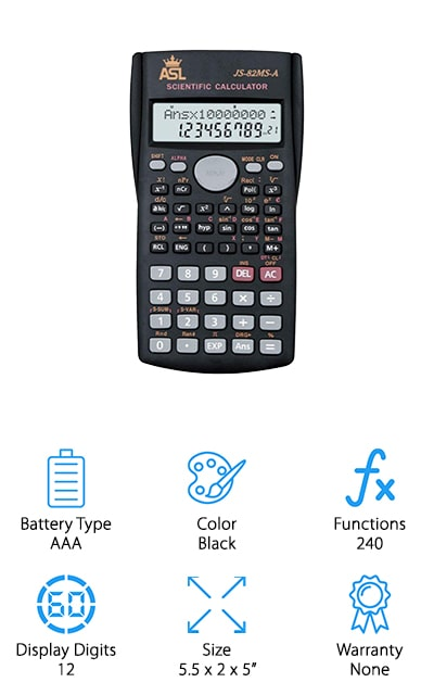 ASL Advanced Scientific Calculator