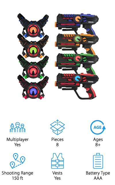 Best Home Laser Tag Sets
