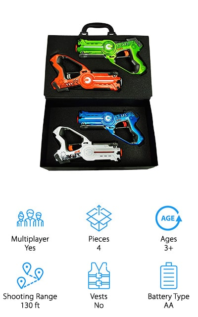 Family Games Laser Tag Set