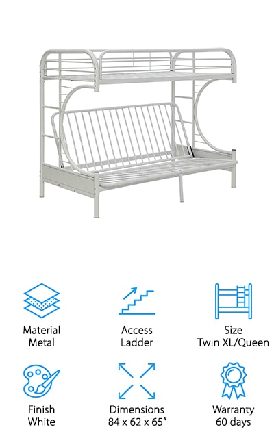 ComfortScape Futon Bunk Bed
