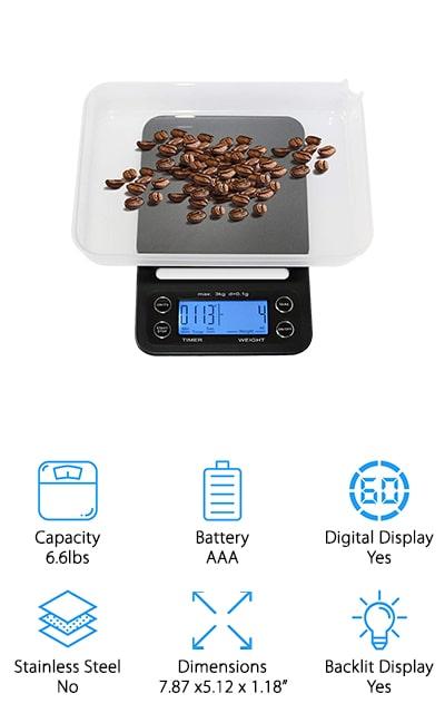 HuiSmart Digital Coffee Scale