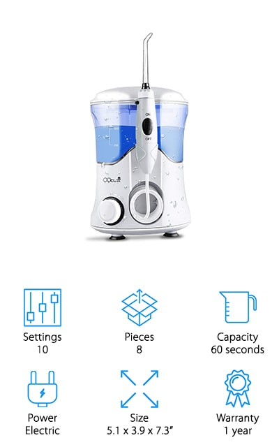 QQCute Water Dental Flosser