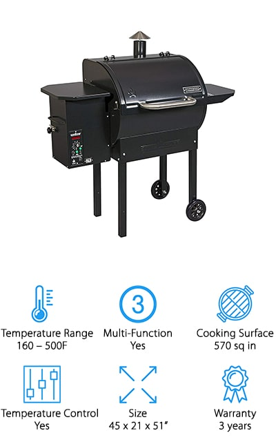 Camp Chef PG24DLX Pellet Grill
