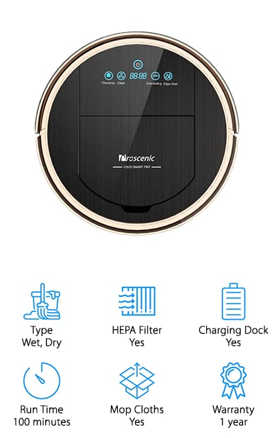 Proscenic Robot Vacuum Cleaner