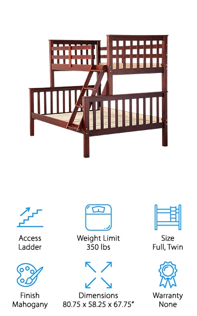 Palace Imports Bunk Bed
