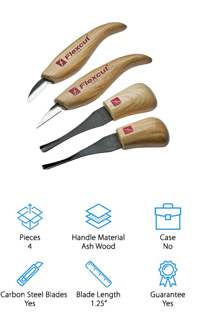 Flexcut Palm & Knife Set