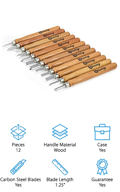 Bastex Wood Carving Set