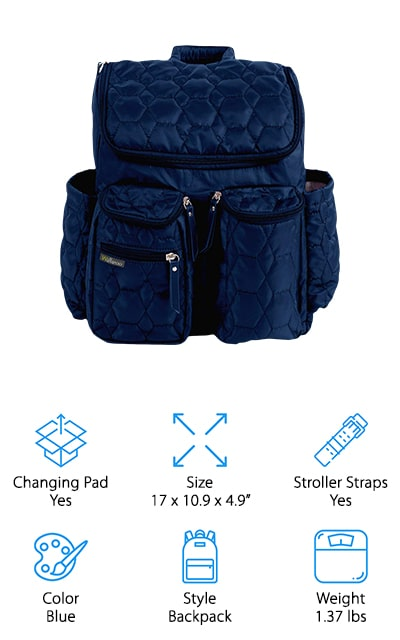 Wallaroo Diaper Backpack